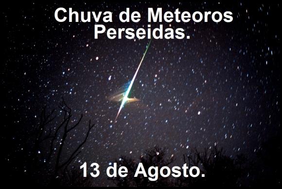 Chuva de meteoros Perseidas 2015