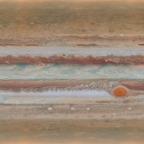 Grande Mancha Vermelha de Júpiter está diminuindo.