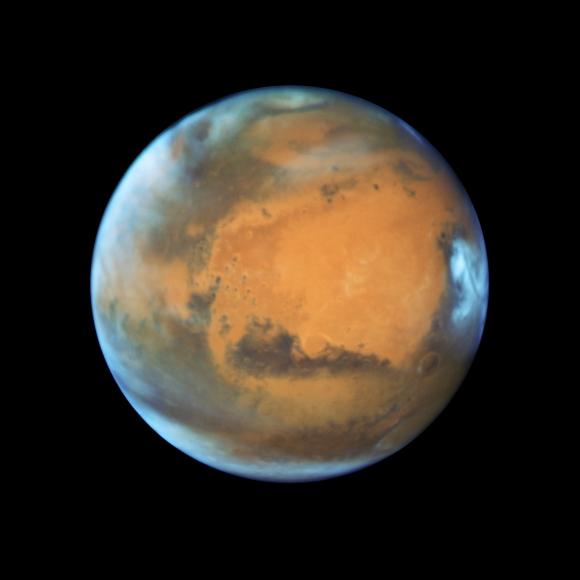 Marte Hubble Nasa new