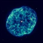 Hubble vê uma Ostra Cósmica