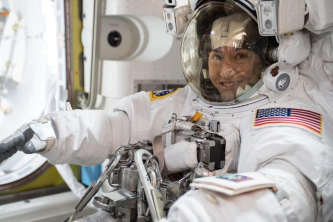 astronauta christina